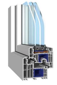 PVC okna montaža